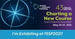 KGL PubFactory is exhibiting at SSP 2021